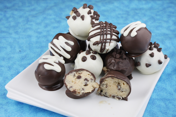 My Recipe Box: Chocolate Chip Cookie Dough Truffles