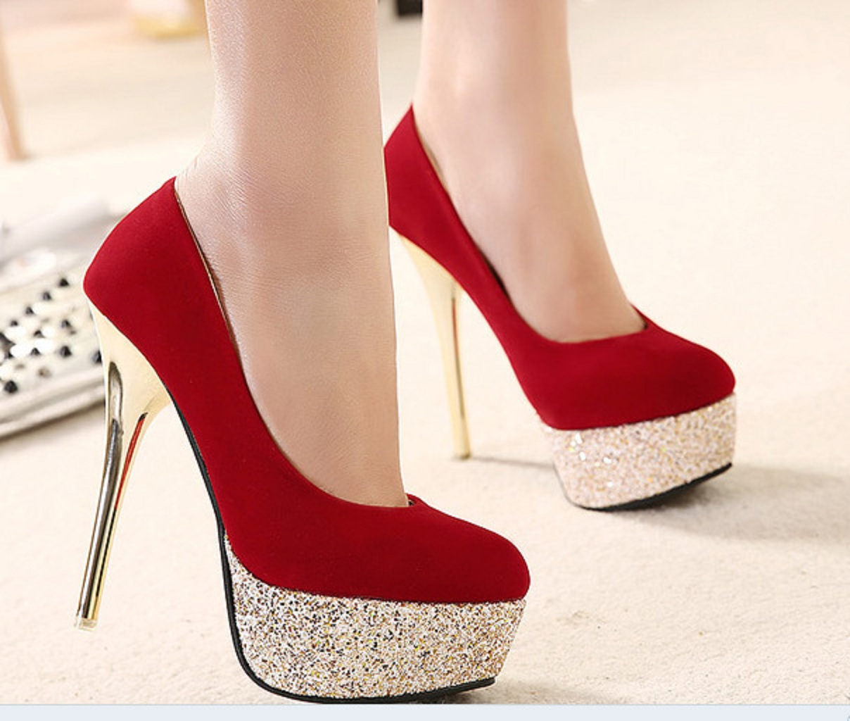 Dynamic Views: 2015 Fashion Woman Pumps Sexy High Heels ...