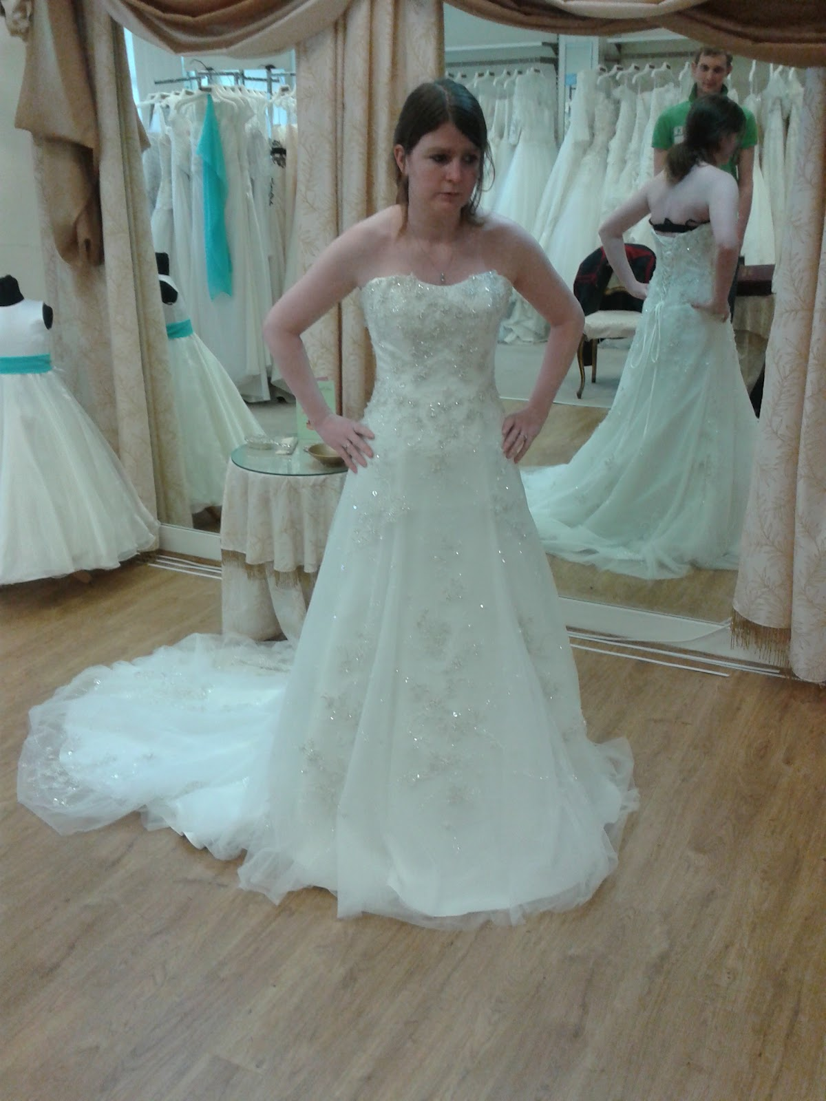 I\'ll Be His Mrs: My Wedding Dress Try-On\'s!