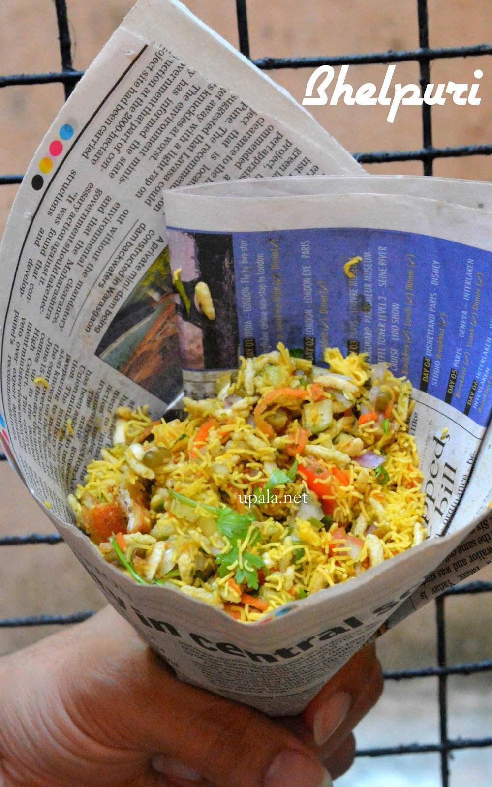 Mumbai bhel puri