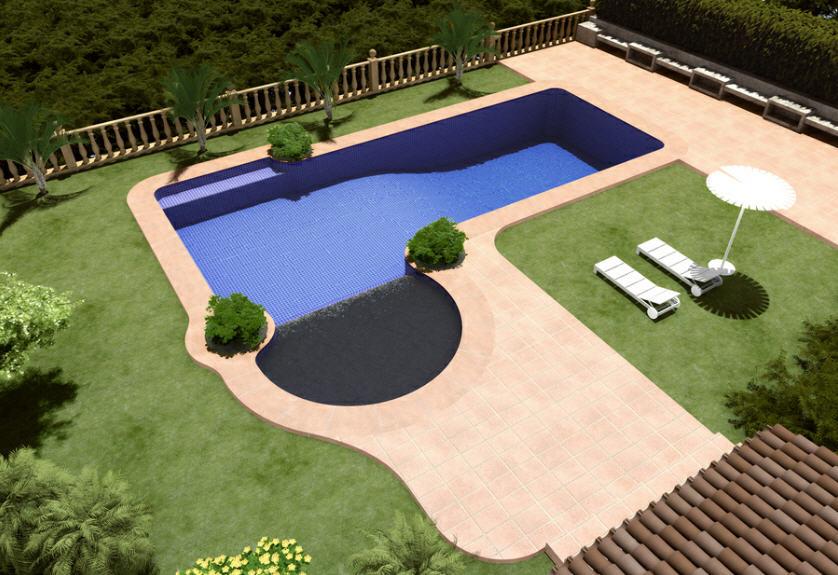 Dise o de casas campestres planos piscinas pergolas for Planos de piscinas