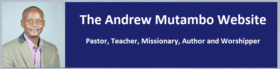 Andrew Mutambo Official Website