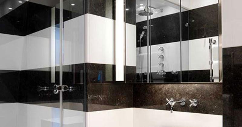 Gabinete Para Banheiro Fotos de banheiros pequenos decorados preto e branco -> Decoracao De Banheiro Com Granito Preto