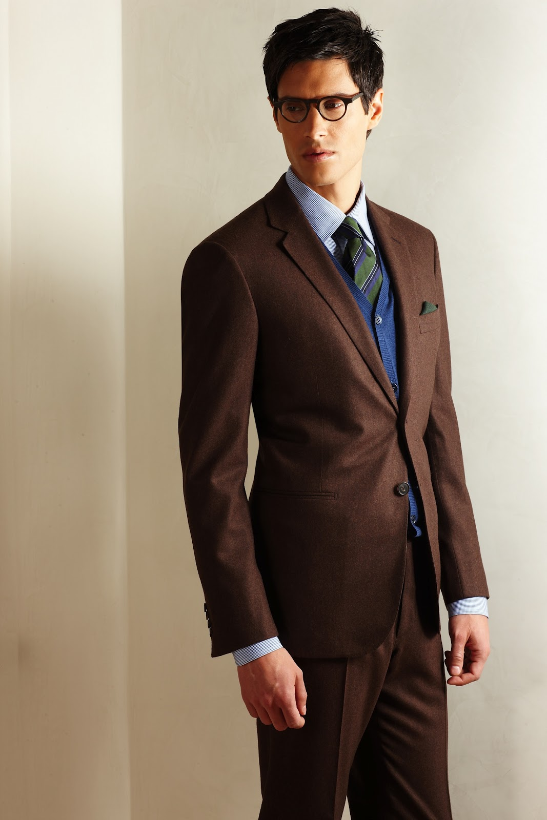 Shirt For Brown Suit Dress Yy