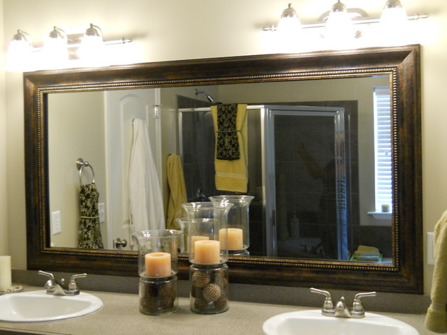 Finding fairy tales diy project 1 bathroom remodel for Types of bathroom mirrors