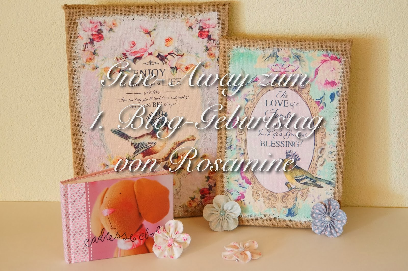 give away bei Rosamine