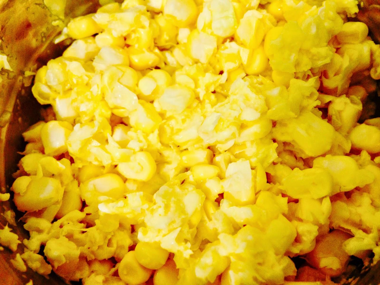 blend of corn seeds