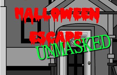 Halloween Escape Unmasked walkthrough.