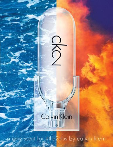 fragancia unisex CK2 de Calvin Klein