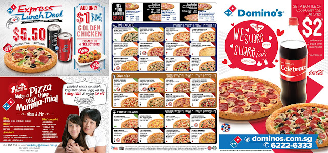 Domino's Express Lunch Deal - Singapore Food Delivery