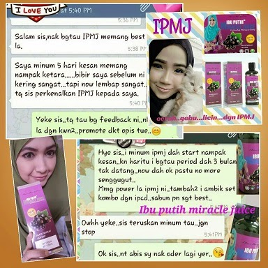 IBU PUTIH MIRACLE JUICE RASA BLACKCURRANT RIBENA