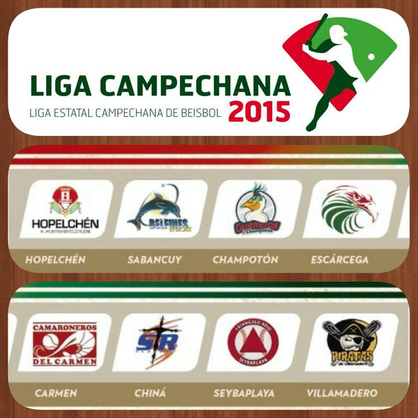 Liga Estatal Campechana de Beisbol Edicion XXXV Temporada 2015-2016