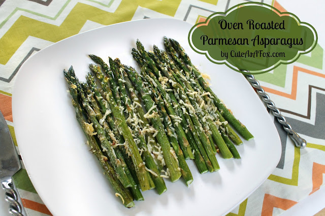 Oven Roasted Asparagus Parmesan recipe