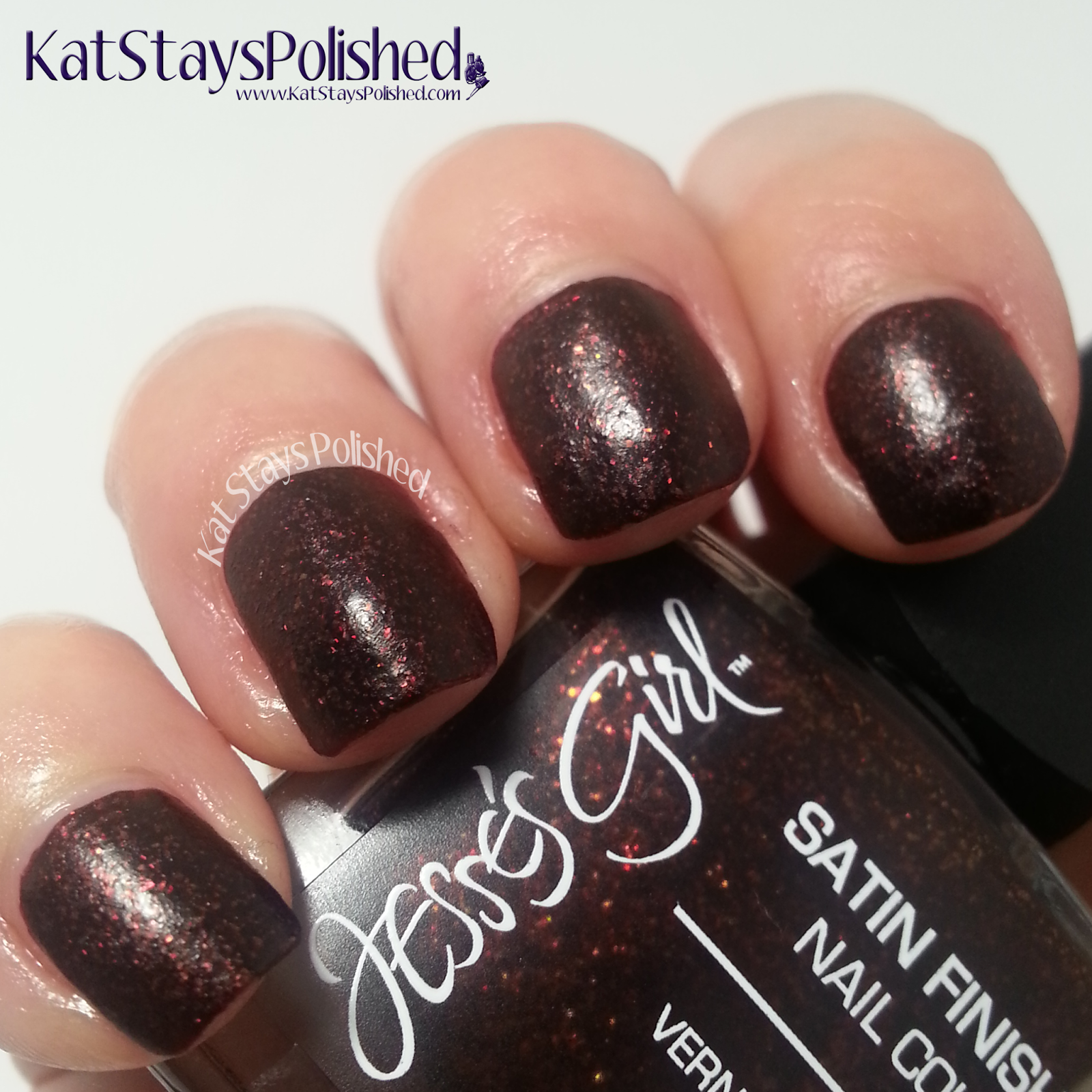 Jesse's Girl Satin Nail Color - Cauldron | Kat Stays Polished
