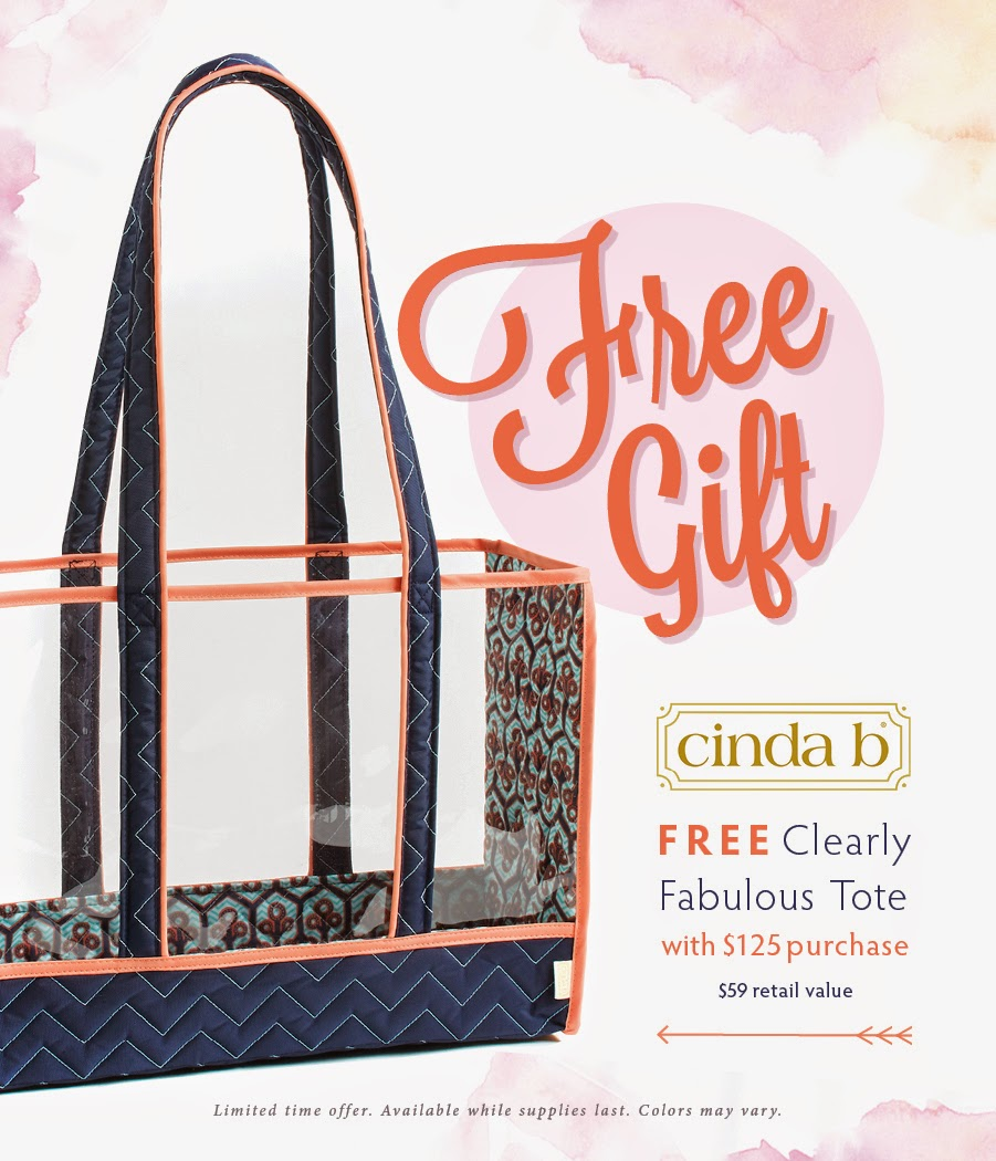 FREE Clearly Fabulous Tote with $125 purchase