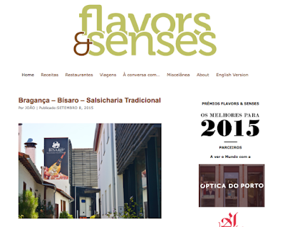 flavors & senses Bísaro