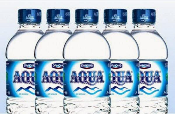 Iklan Aqua, air mineral