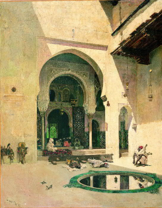 mariano fortuny orientalist painting