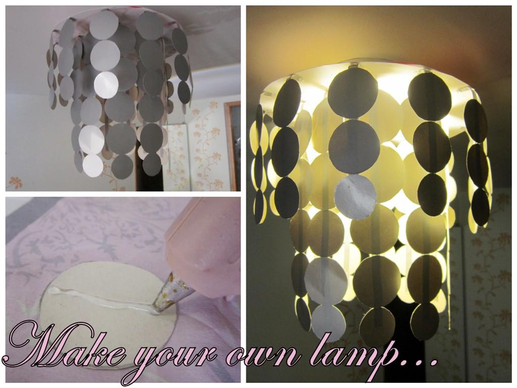 Leuke Slaapkamer Lamp : Zelf dingen maken zelfgemaakte lamp diy lamp