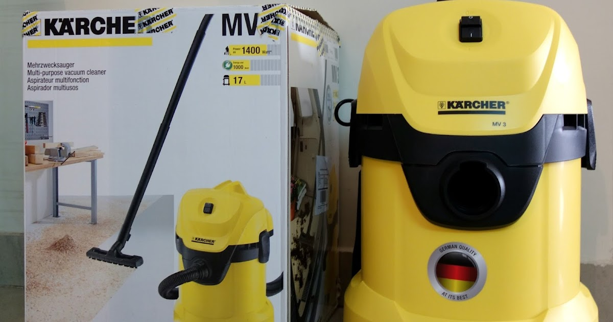karcher mv3 vacuum cleaner review | do the diy