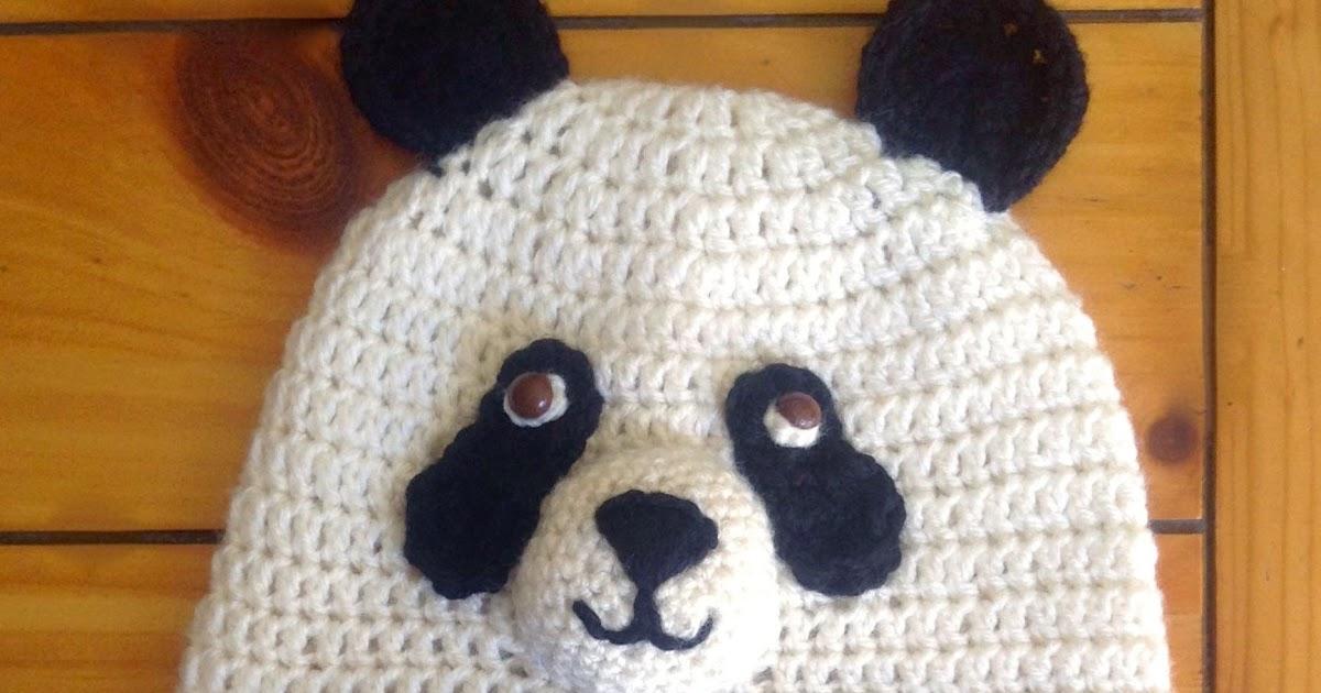 Gorro para niño/a de panda