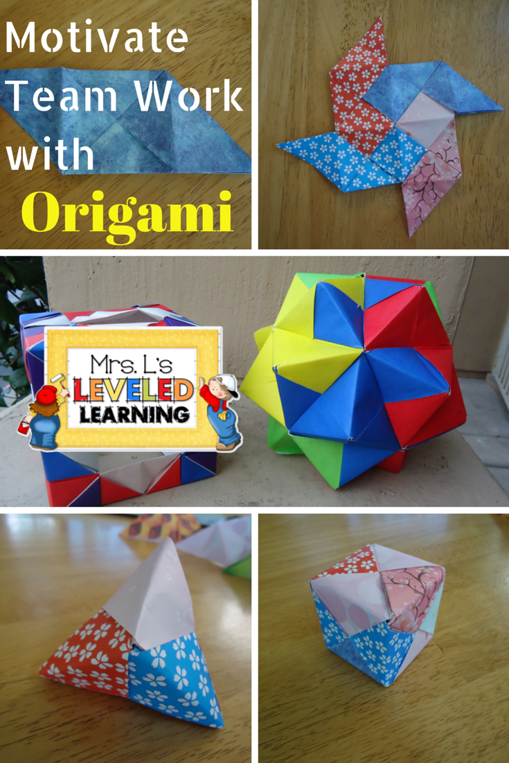 Valentine's Day Origami Projects - Mrs. L's Leveled Learning - photo#6