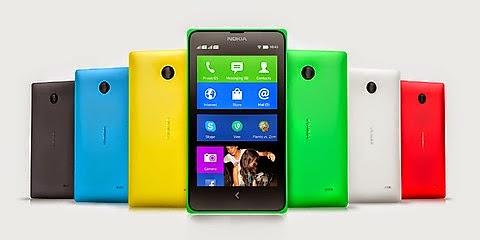 Spesifikasi Gambar Dan Harga Handphone Nokia X Dual SIM