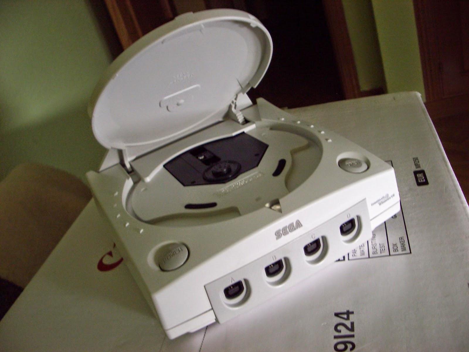 A pundo de desmontar la Dreamcast