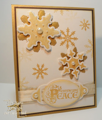 Our Daily Bread Designs, Sparkling Snowflakes, Christmas Flourished Verses, Christmas Verses
