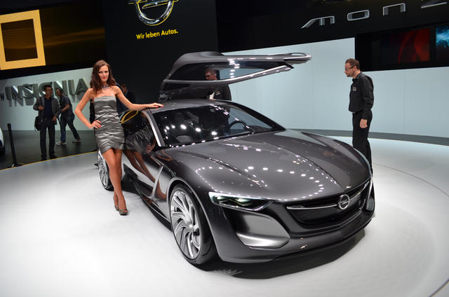 Opel monza concept burns electricity natural gas for Burns motors used cars