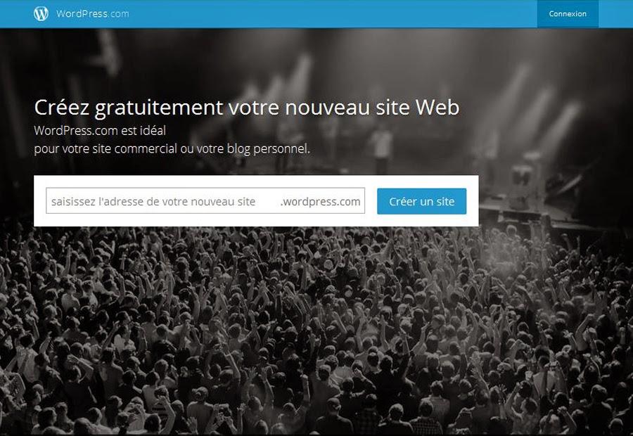 Créer un blog gratuit sans compétences informatiques avec Wordpress.