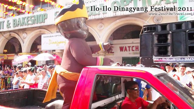 iloilo dinagyang festival 2011 parade dinagyang mascot