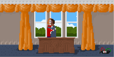McPixel in the White House...