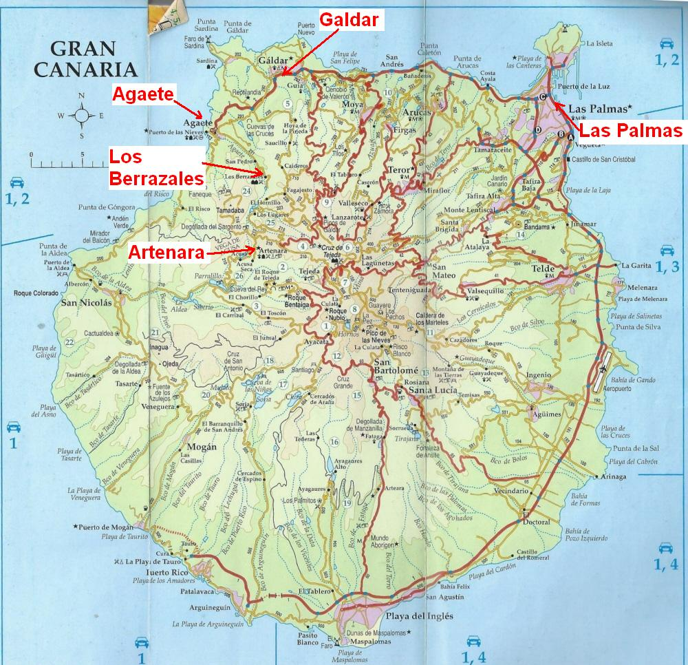 dutchlink Hike Gran Canaria 9 Dec 2012 Artenara to Los Berrazales