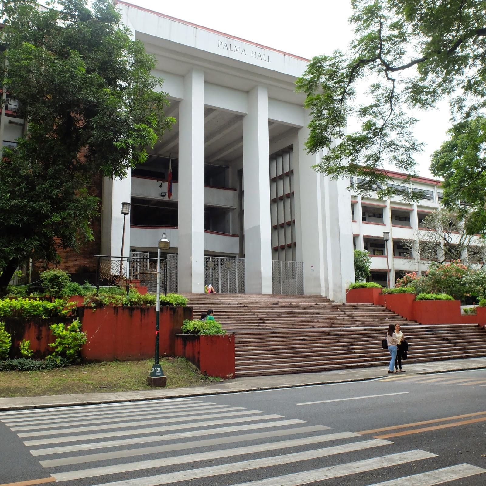 Palma Hall UP Diliman