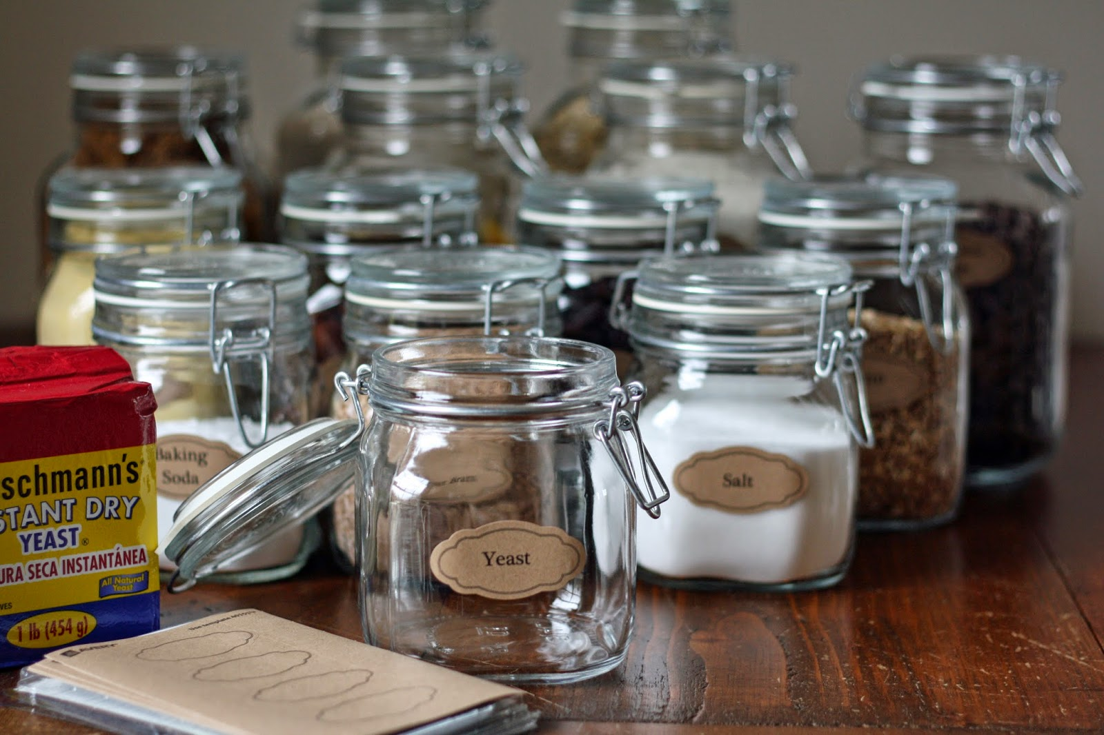 the semi frugal life diy bridal shower gift pantry essentials
