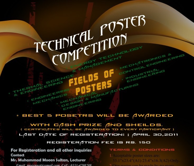 technical poster