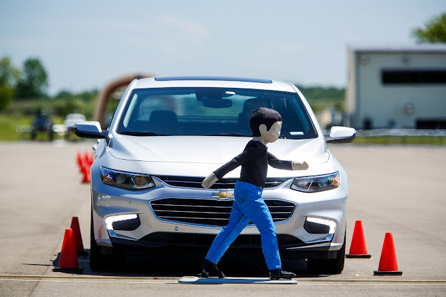 GM is Driving Safer with a New Active Safety Test Area