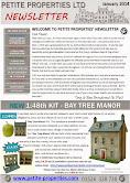 Petite Properties' Newsletter