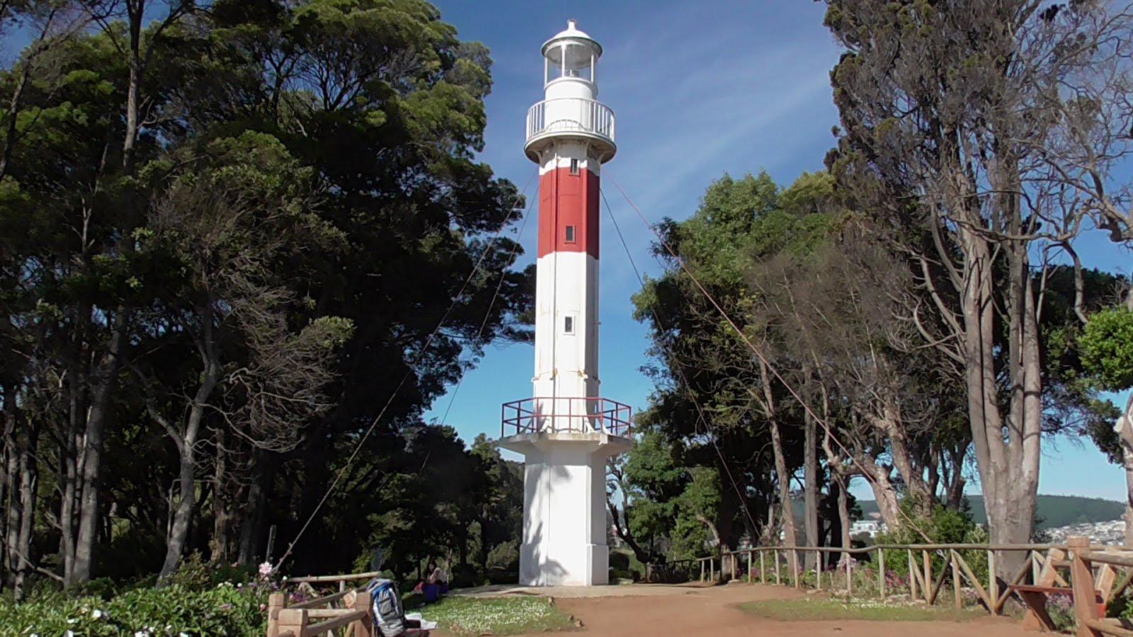 Phare de Punta Lutrín (Chili)