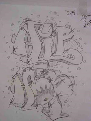 graffiti Hip hop Sketches