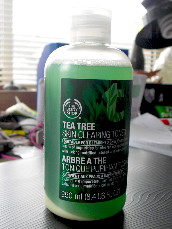 tea tree skin clearing toner how to use