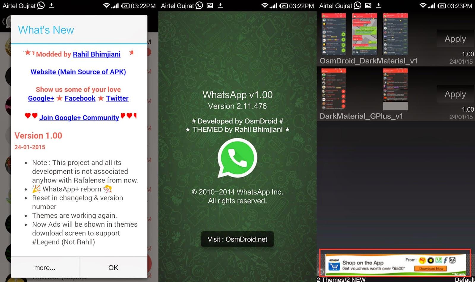 WhatsApp Plus ReBorn 1.00 No Anti How to Remove Ban AntiBan