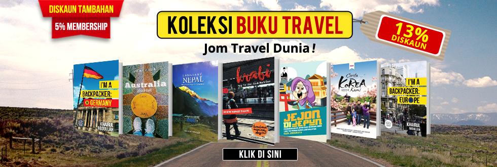 Koleksi Buku Travel
