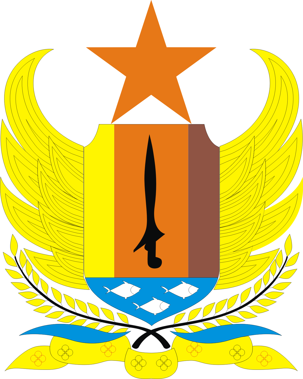 Logo Kota Dan Kabupaten Di Propinsi Jawa Tengah Ardi La Madi S Blog