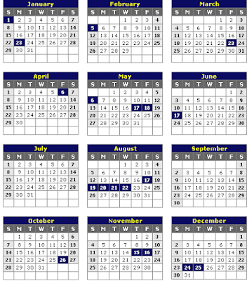 Kalender 2012 Lengkap | Download Kalendar 2012 Indonesia - Indonesian