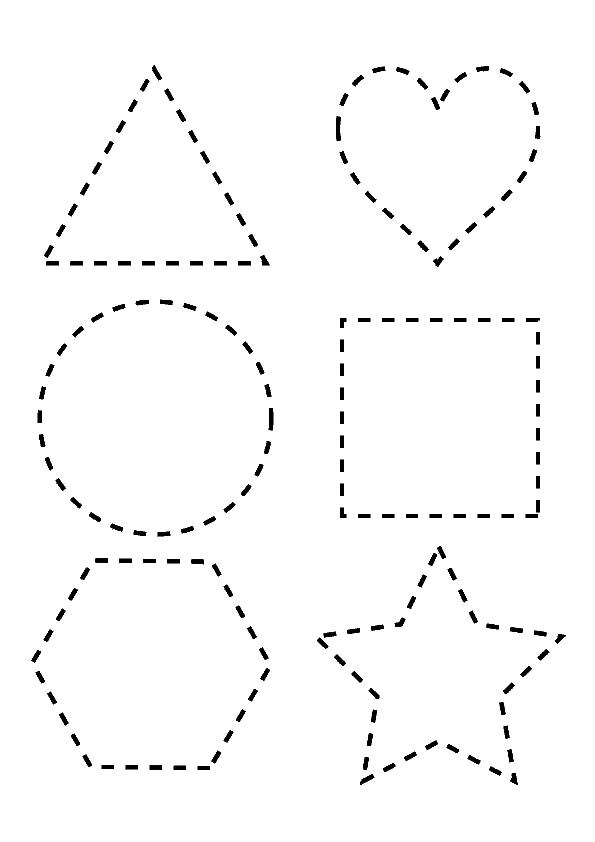 Paginas para colorear con nombres de formas geometricas - Maneras de pintar ...