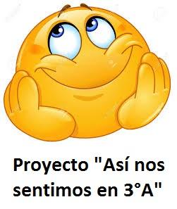 """Proyecto """"Así nos sentimos en 3°A"""""""