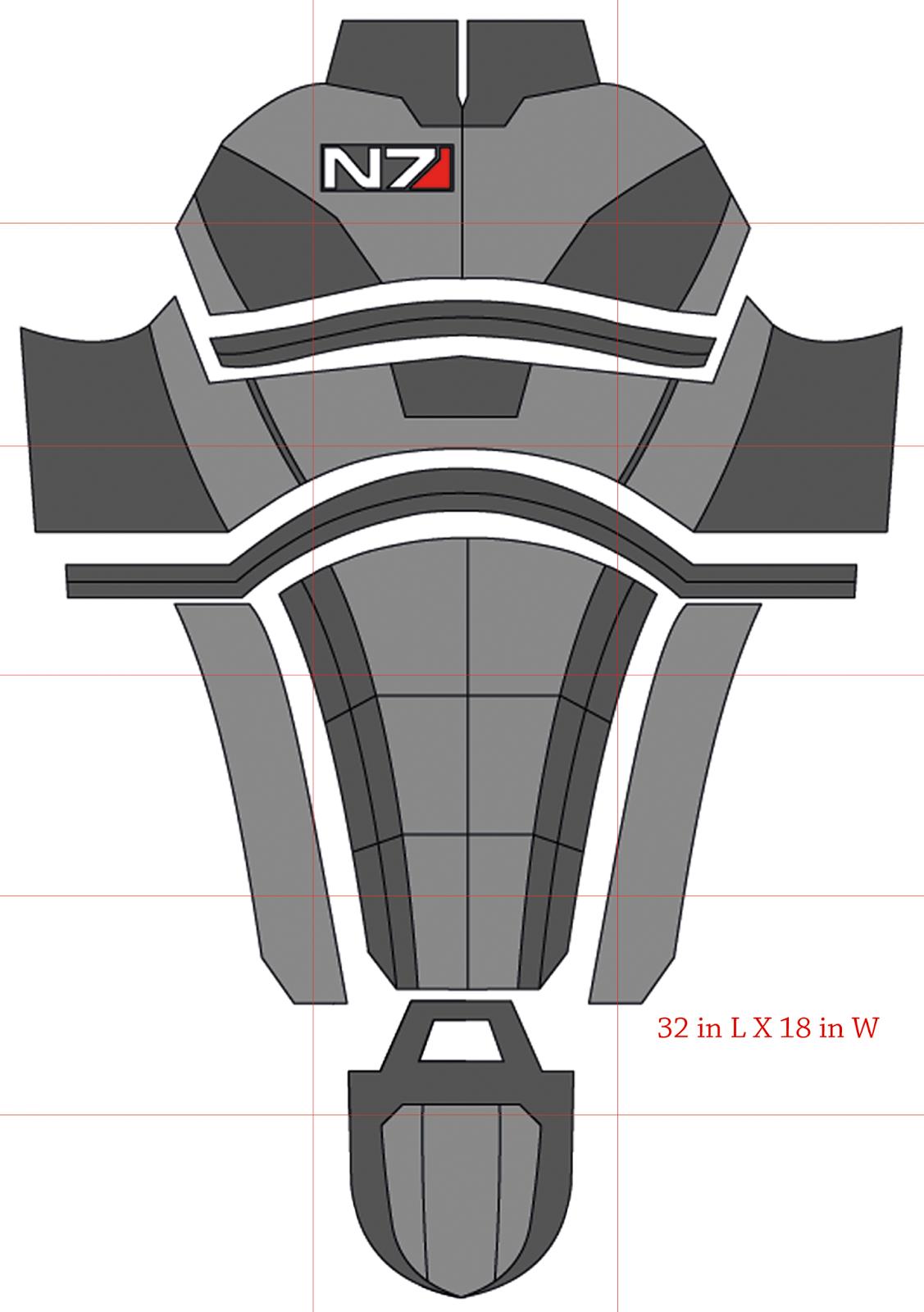 deathstroke armor template - kaotik projects
