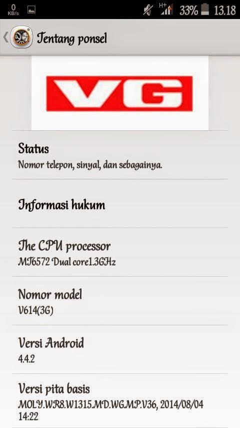 Custom Roms Advan S5E Pro Kitkat - ROM VG-614